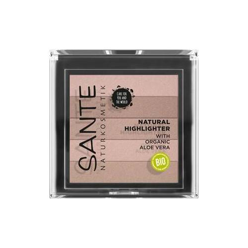 Sante Naturkosmetik Teint Highlighter Natural Highlighter Nr. 02 Rose 7 g