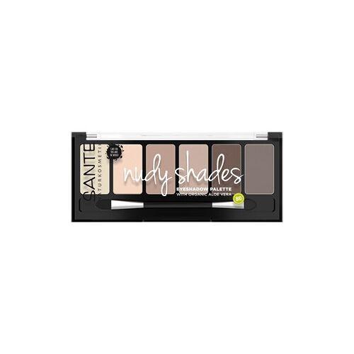 Sante Naturkosmetik Augen Lidschatten Eyeshadow Palette Nude Shades 6 g
