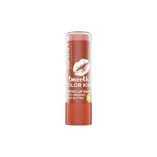 Sante Naturkosmetik Lippen Lippenstifte Smooth Color Kiss Nr. 02 Soft Red 8,50 g