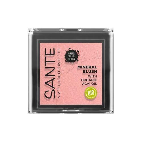 Sante Naturkosmetik Teint Rouge & Bronzer Mineral Blush Nr. 02 Coral Bronze 5 g