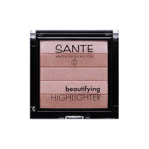 Sante Naturkosmetik Teint Highlighter Beautifying Highlighter Nr. 01 Nude 7 g