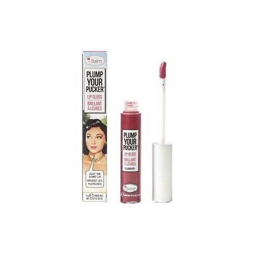 The Balm Lippen Lip Gloss Plump Your Pucker Lip Gloss Nr. 01 Eloborate 7 ml