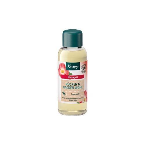 Kneipp Pflege Haut- & Massageöle Massageöl Rücken Wohl 100 ml