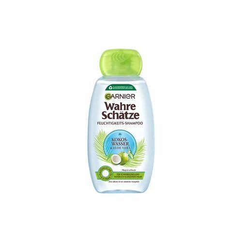 GARNIER Haarpflege Wahre Schätze Kokoswasser & Aloe Vera Feuchtigkeits Shampoo 250 ml