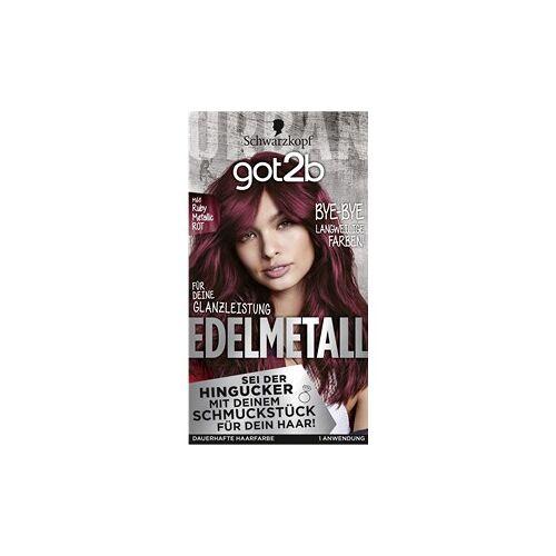 GOT2B Haarfarben Coloration M68 Ruby Metallic Stufe 3 Edelmetall 143 ml