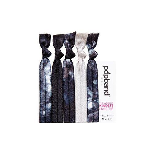 Popband Accessoires Zopfbänder Hair Tie Tye Dye 5 Stk.