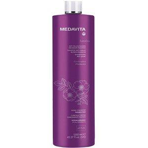 Medavita Haarpflege Luxviva Anti Yellow Blonde Enhancer Shampoo 1250 ml