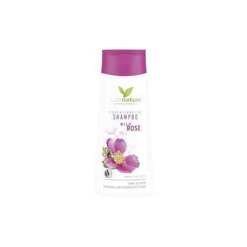 Cosnature Pflege Haarpflege Feuchtigkeits-Shampoo Wildrose 200 ml