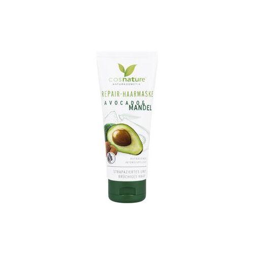Cosnature Pflege Haarpflege Repair-Haarmaske Avocado & Mandel 100 ml