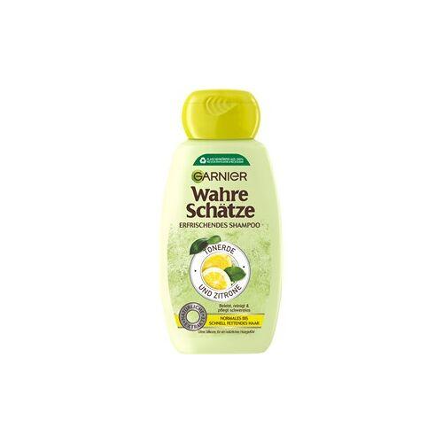 GARNIER Haarpflege Wahre Schätze Tonerde & Zitrone Shampoo 250 ml
