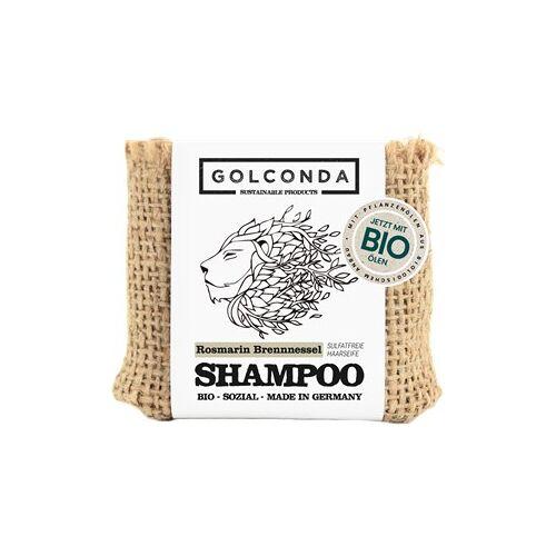 Golconda Pflege Seifen Rosmarin & Brennnessel Shampoo 65 g