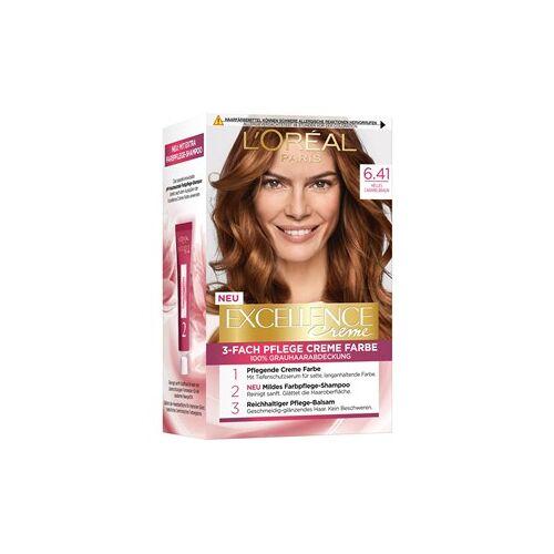 L'Oréal Paris Haarfarben Excellence Crème 6.41 Helles Caramelbraun 1 Stk.
