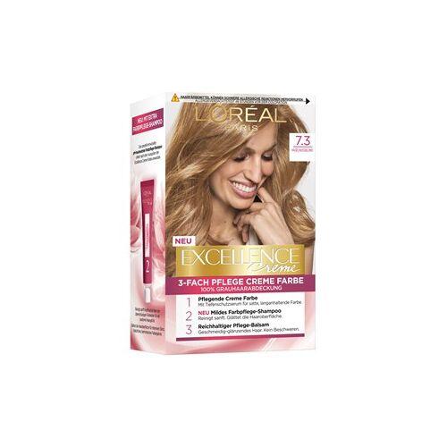 L'Oréal Paris Haarfarben Excellence Crème 7.3 Haselnussblond 1 Stk.