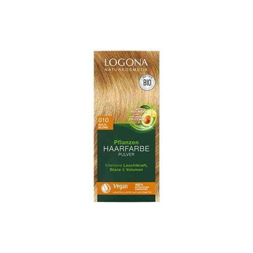 Logona Haarpflege Haarfarbe Pflanzen Haarfarbe Pulver Nr. 060 Nussbraun 100 g