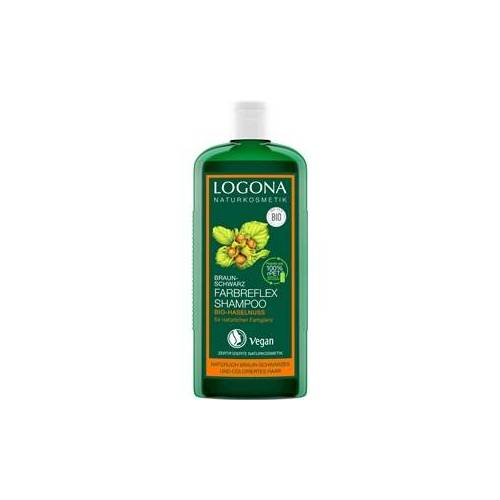 Logona Haarpflege Shampoo Bio-Haselnuss Farbreflex Shampoo Braun-Schwarz 250 ml