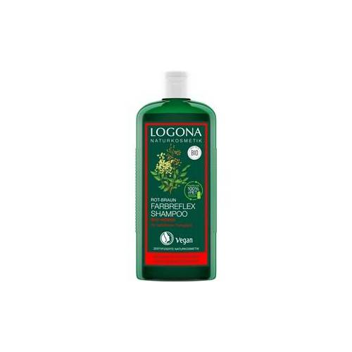 Logona Haarpflege Shampoo Bio-Henna Farbreflex Shampoo Rot-Braun 250 ml