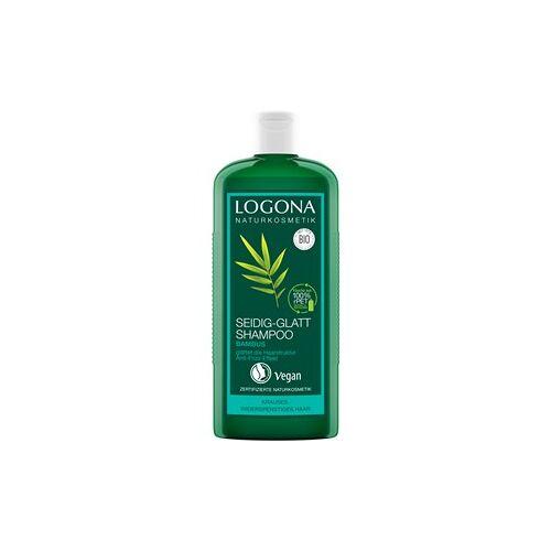Logona Haarpflege Shampoo Seidig-Glatt Shampoo Bambus 250 ml