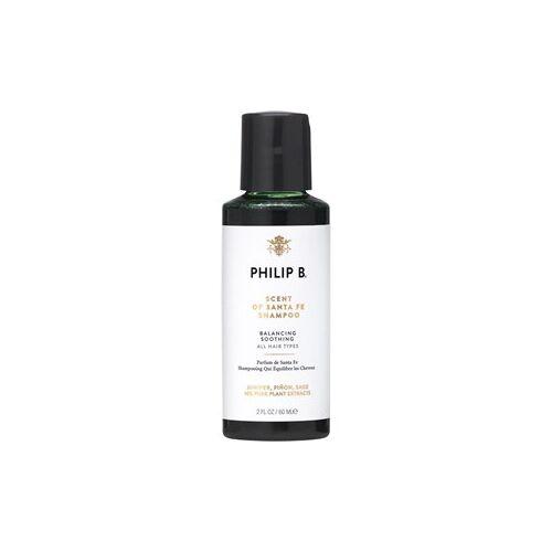 Philip B Haarpflege Shampoo Scent Of Santa Fe Shampoo 60 ml