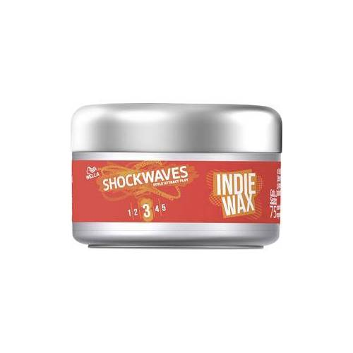 Wella Shockwaves Haare Styling Indie Wax 75 ml