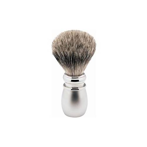 ERBE Shaving Shop Rasierpinsel Rasierpinsel Silberspitz, Plastikgriff weiß matt 1 Stk.
