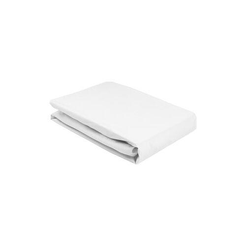 Joop! Bettwäsche Spannbettlaken Spannbettlaken Uni Jersey Weiß 100 x 200 cm 1 Stk.