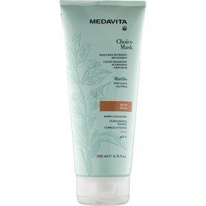 Medavita Haarpflege Choice Mask Color Enhancing Nourishing Hair Mask Aubergine 200 ml