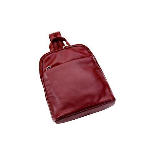Hans Kniebes HK-Style Handtaschen & Rucksäcke Rucksack, Nappa-Vollrindleder, 275 x 245 x 80 mm schwarz 1 Stk.