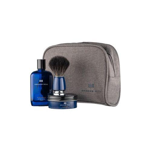 Graham Hill Pflege Shaving & Refreshing Shaving Set Shaving Brush + Casino Shaving Soap Bar 85 g + Mirabeau After Shave Tonic 100 ml 1 Stk.
