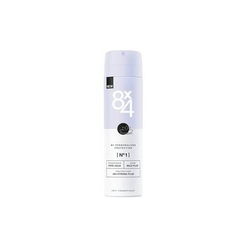 8x4 Deodorants Damen Deodorant Spray Nr. 1 Pure Aqua 150 ml