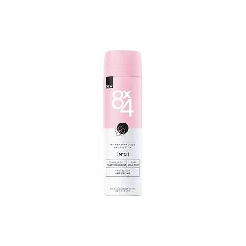 8x4 Deodorants Damen Deodorant Spray Nr. 3 Velvet Blossom 150 ml