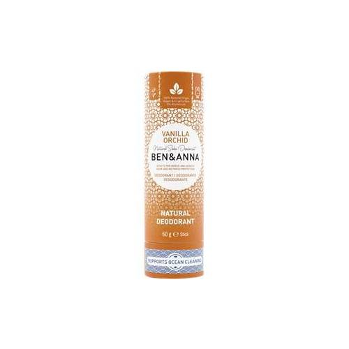 BEN&ANNA Pflege Deodorant PaperStick Natural Deodorant Stick Vanilla Orchid 60 g