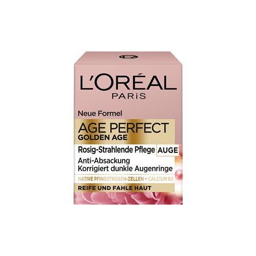 L'Oréal Paris Gesichtspflege Augenpflege Golden Age Rosé Augenpflege 15 ml