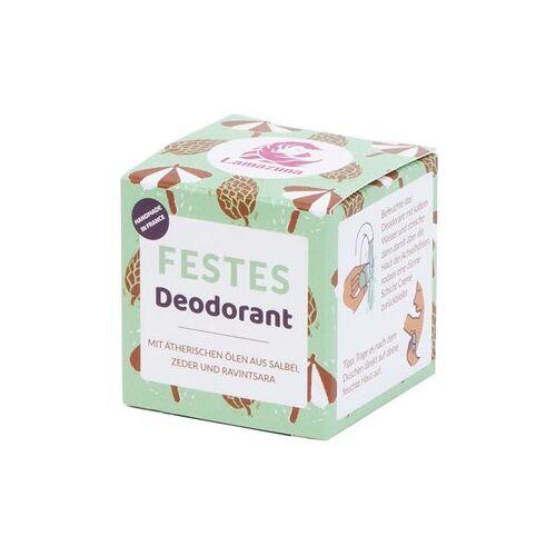 Lamazuna Pflege Deodorants Salbei Zeder & Ravintsara Festes Deodorant 35 g