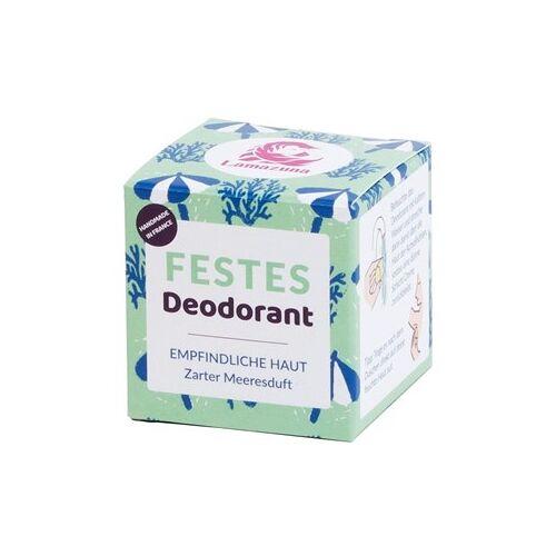 Lamazuna Pflege Deodorants Zarter Meeresduft Festes Deodorant 35 g