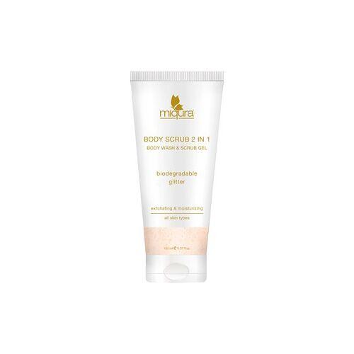 Miqura Pflege Skin Care Body Scrub 2-in-1 Body Wash & Scrub Gel 150 ml