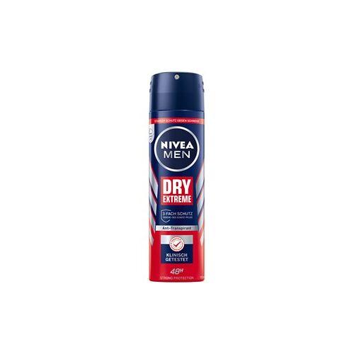 Nivea Männerpflege Deodorant Nivea Men Dry Extreme Deodorant Spray 150 ml