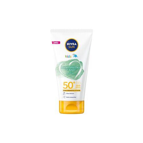 Nivea Sonnenpflege Kinder Sonnenschutz Sun Kids Mineralischer UV-Schutz 50 SPF 150 ml