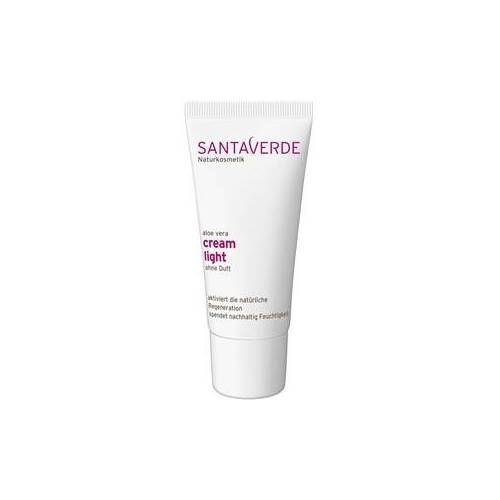 Santaverde Pflege Gesichtspflege Aloe Vera Eye Cream Light ohne Duft 30 ml