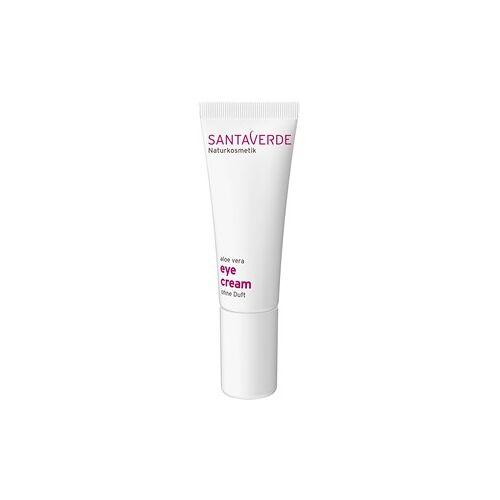 Santaverde Pflege Gesichtspflege Aloe Vera Eye Cream ohne Duft 10 ml