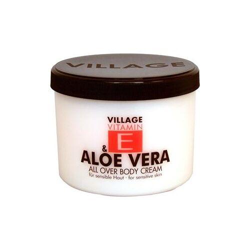 Village Pflege Vitamin E Body Cream Aloe Vera 500 ml