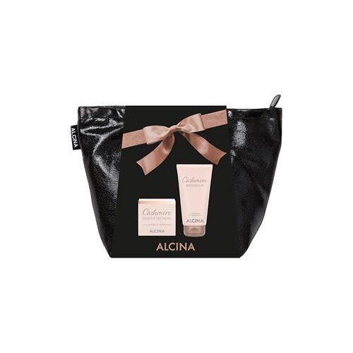 Alcina Kosmetik Cashmere Cashmere Body Geschenkset Cashmere Bodybalm 150 ml + Cashmere Gesichtscreme 50 ml + Tasche 1 Stk.
