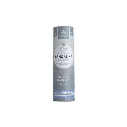 BEN&ANNA Pflege Deodorant PaperStick Natural Deodorant Stick Sensitive Highland Breeze 60 g