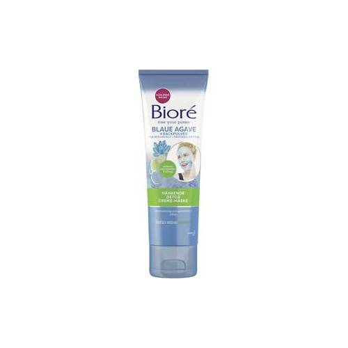 Bioré Pflege Gesichtspflege Blaue Agave + Backpulver Nährende Detox Creme-Maske 110 g