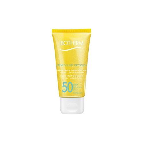 Biotherm Sonnenpflege Sonnenschutz Crème Solaire Dry Touch SPF 50 50 ml