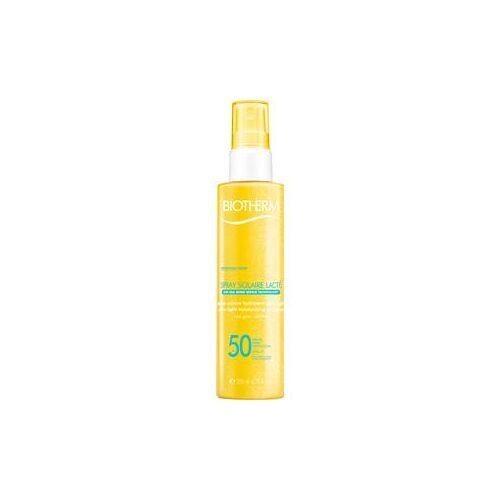 Biotherm Sonnenpflege Sonnenschutz Spray Solaire Lactè SPF 30 200 ml