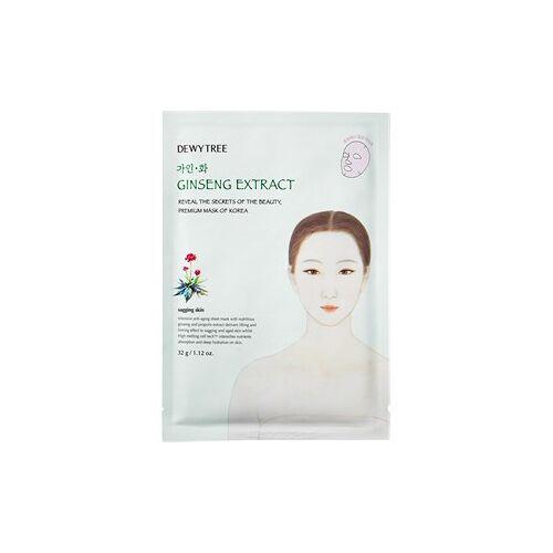 DEWYTREE Pflege Gesichtsmasken Ginseng Extract Mask 1 Stk.