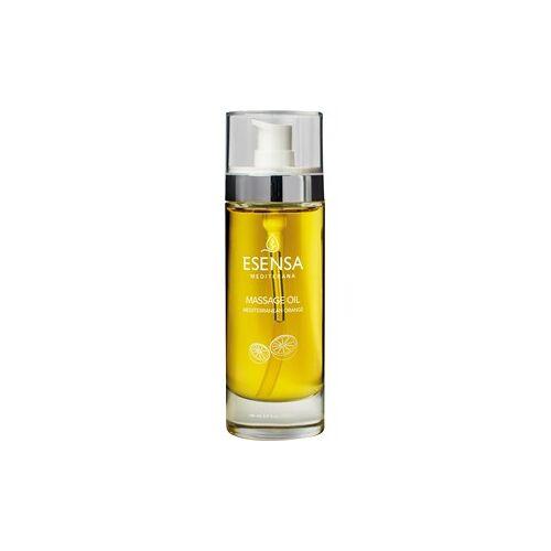 Esensa Mediterana Körperpflege Mediterrane Aromatherapie Entspannendes & stimmungsaufhellendes Aromaöl Massageöl Orange 100 ml