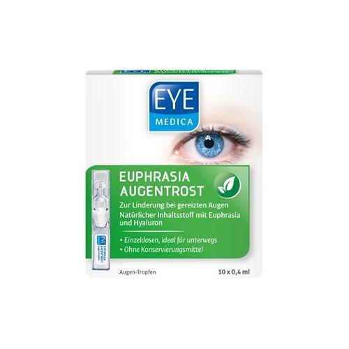 EyeMedica Pflege Augenpflege Augen-Tropfen Euphrasia Augentrost 10 x 0,40 ml