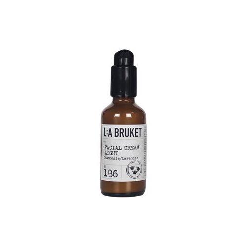 La Bruket Gesichtspflege Gesichtscremes Nr. 186 Facial Cream Light Chamomile/Lavender 50 ml