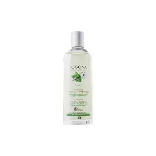 Logona Gesichtspflege Reinigung Bio-Minze & Salicylsäure aus Weidenrinde Klärendes Gesichtswasser 125 ml